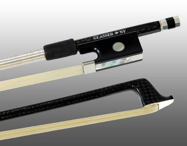Glasser Braided Carbon Fiber Bow for Violin, Octagonal Stick