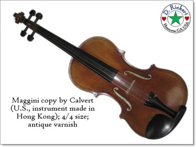 Maggini Violin by Calvert Violins