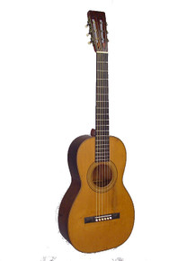 Martin 1840s guitar with slotted head
