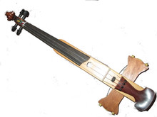 Frequent Flyer Travel Violin by Don Rickert Musician Shop ( D. Rickert Musical Instruments )