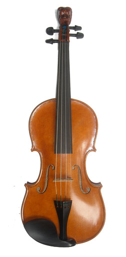 Lion of Ireland Special Edition Fiddle by D. Rickert Musical Instruments 1