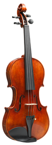 Model 60 Special Edition Fiddle by D. Rickert Musical Instruments (front)