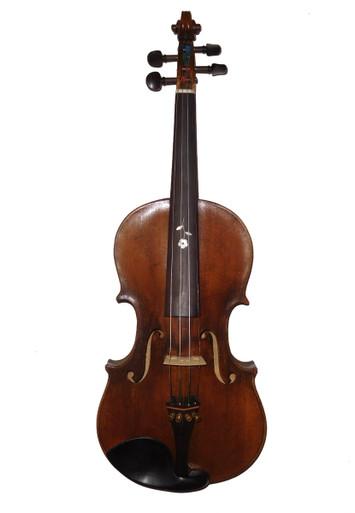 Vintage Fiddle, Strad Copy, Czech, Circa 1913 front
