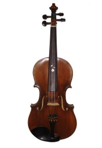 Vintage Fiddle, Strad Copy, Czech, Circa 1913 front
