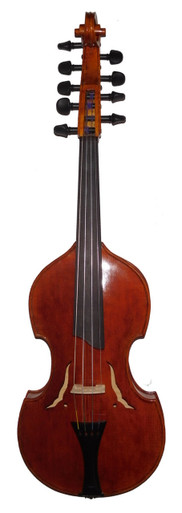 D. Rickert 14 Inch Viola d'Amore 4x5 front 1