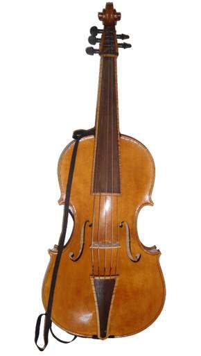 Violoncello da Spalla by Donald Rickert with strap front