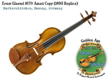 Ernst Glaesel 1670 Amati Copy (1895 Replica)