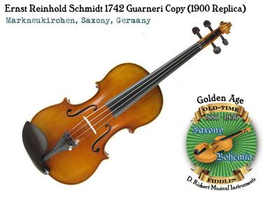 Ernst Reinhold Schmidt 1742 Guarneri Copy (1900 Replica)