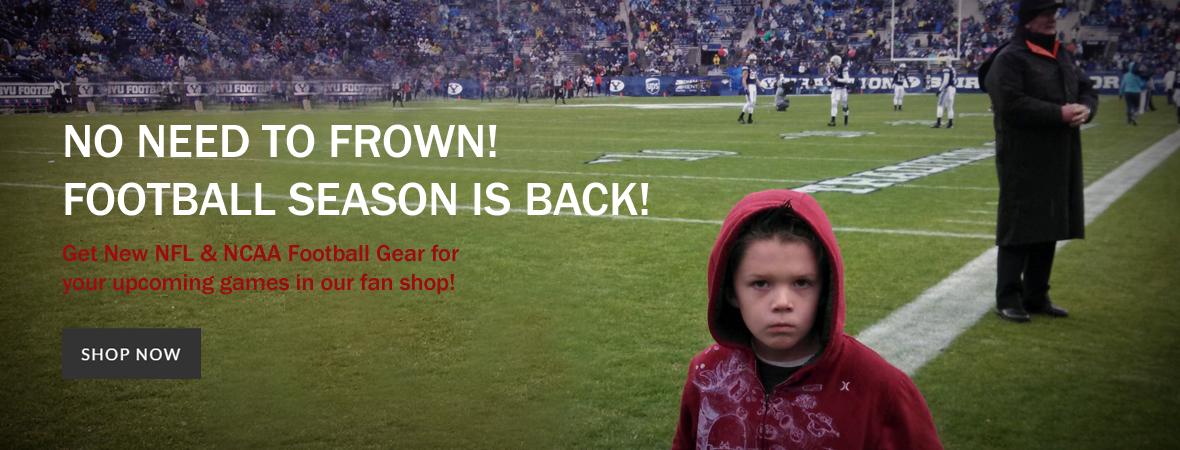 NFL & NCAA Football Gear & Fan Shop
