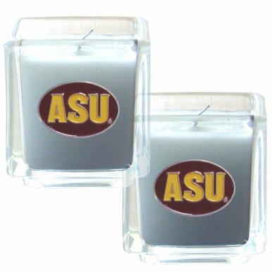 Arizona Wildcats Vanilla Candle Set NCCA College Sports C2CD68