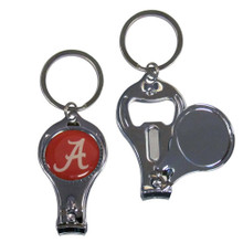 Alabama Crimson Tide 3 in 1 Keychain NCCA College Sports C3KC13