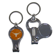 Texas Longhorns 3 in 1 Keychain NCCA College Sports C3KC22