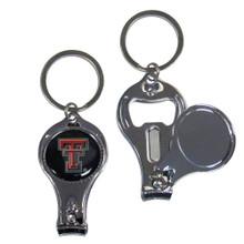 Texas Tech Raiders 3 in 1 Keychain NCCA College Sports C3KC30