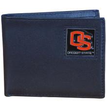 Oregon State Beavers Black Bifold Wallet NCCA College Sports CBI72
