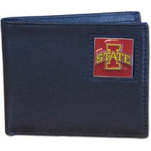Iowa State Cyclones Black Bifold Wallet NCCA College Sports CBI83
