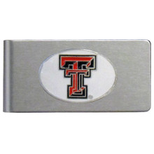 Texas Tech Raiders Brushed Money Clip NCCA College Sports CBMC30