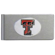 Texas Tech Raiders Brushed Money Clip NCCA College Sports CBMC30