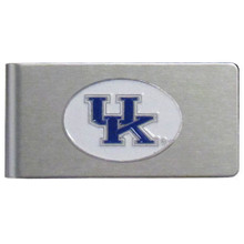 Kentucky Wildcats Brushed Money Clip NCCA College Sports CBMC35