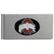 Ohio State Buckeyes Brushed Money Clip NCCA College Sports CBMC38