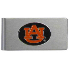 Auburn Tigers Brushed Money Clip NCCA College Sports CBMC42