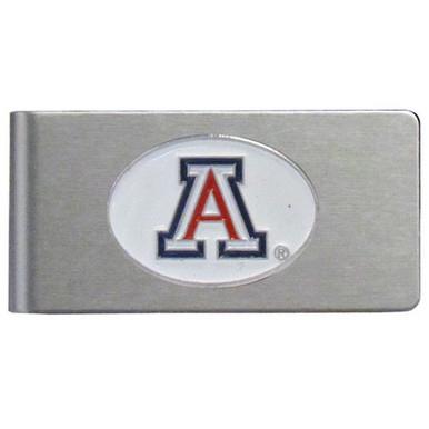 Arizona Wildcats Brushed Money Clip NCCA College Sports CBMC54