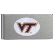 Virginia Tech Hokies Brushed Money Clip NCCA College Sports CBMC61