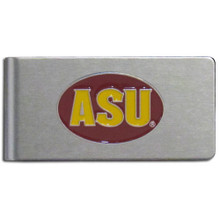 Arizona State Sun Devils Brushed Money Clip NCCA College Sports CBMC68