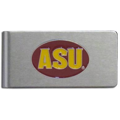 Arizona State Sun Devils Brushed Money Clip NCCA College Sports CBMC68
