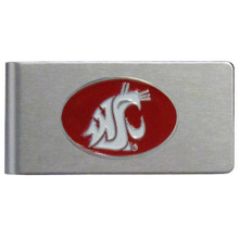 Washington State Cougars Brushed Money Clip NCCA College Sports CBMC71