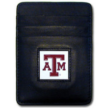 Texas A&M Aggies Leather Money Clip Card Holder Wallet NCCA College Sports CCH26