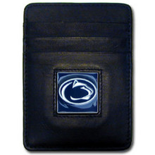 Penn State Nittany Lions Leather Money Clip Card Holder Wallet NCCA College Sports CCH27