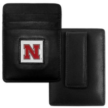 Nebraska Cornhuskers Leather Money Clip Card Holder Wallet NCCA College Sports CCH3