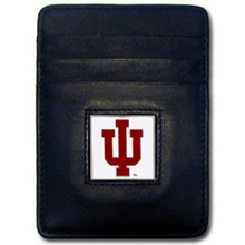 Indiana Hoosiers Leather Money Clip Card Holder Wallet NCCA College Sports CCH39