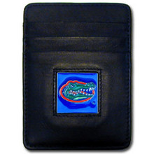 Florida Gators Leather Money Clip Card Holder Wallet NCCA College Sports CCH4