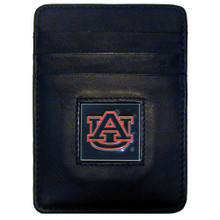 Auburn Tigers Leather Money Clip Card Holder Wallet NCCA College Sports CCH42