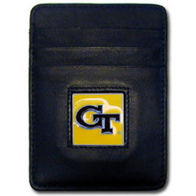 Georgia Tech Yellow Jackets Leather Money Clip Card Holder Wallet NCCA College Sports CCH44
