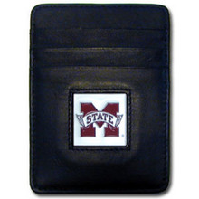 Mississippi State Bulldogs Leather Money Clip Card Holder Wallet NCCA College Sports CCH45