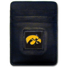 Iowa Hawkeyes Leather Money Clip Card Holder Wallet NCCA College Sports CCH52