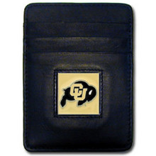 Colorado Buffaloes Leather Money Clip Card Holder Wallet NCCA College Sports CCH57