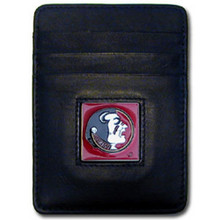 Florida State Seminoles Leather Money Clip Card Holder Wallet NCCA College Sports CCH7