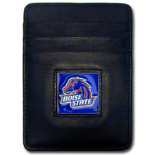 Boise State Broncos Leather Money Clip Card Holder Wallet NCCA College Sports CCH73