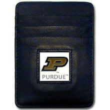Purdue Boilermakers Leather Money Clip Card Holder Wallet NCCA College Sports CCH84