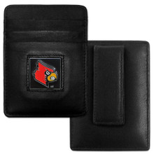 Louisville Cardinals Leather Money Clip Card Holder Wallet NCCA College Sports CCH88