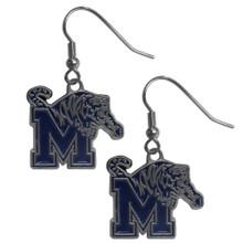 Memphis Tigers Dangle Earrings NCCA College Sports CDE103