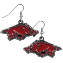 Arkansas Razorbacks Chrome Dangle Earrings NCCA College Sports CDE12N