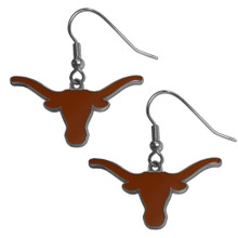 Texas Longhorns Dangle Earrings NCCA College Sports CDE22