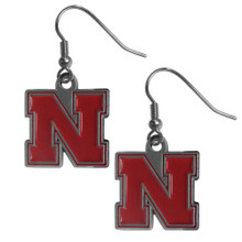 Nebraska Cornhuskers Dangle Earrings NCCA College Sports CDE3