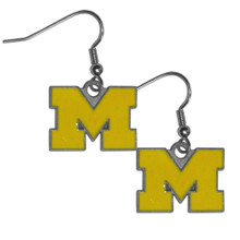 Michigan Wolverines Dangle Earrings NCCA College Sports CDE36
