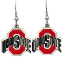 Ohio State Buckeyes Dangle Earrings NCCA College Sports CDE38