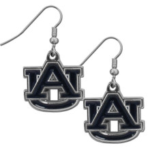 Auburn Tigers Chrome Dangle Earrings NCCA College Sports CDE42N